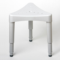 Ableware 727160000 Adjustable Corner Shower Seat by Maddak