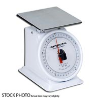 Detecto PT-R Petite Top Loading Dial Scales