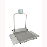 Health o meter 2610KG Digital Wheelchair Scale with Dual Ramps-KG Only