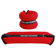Valor Fitness EA-11 3lb Ankle/Wrist Weight Pair